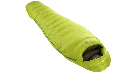 Mountain Equipment Helium 800 Slepping Bag XL Green Shoots